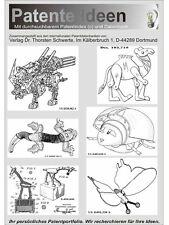 Actionfiguren 180 original Design Patente