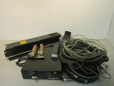 Omnichrome 4056r Opto A01 Series 56x Laser With Power Supply Amp Cables