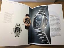 Libro PATEK PHILIPPE - Colección Relojes 2010 - 2011 - Nautilus Aquanaut - ESP