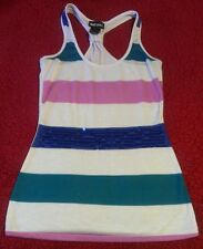 Beautiful WET SEAL Sequins Striped Polyester Top, X SMALL. EUC!  CHECK IT OUT!