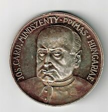 HUNGARY 973 - 1973 JOS MINDSZENTY 1000 YRS OF CHRISTIAN LEADER ST STEPHEN SILVER