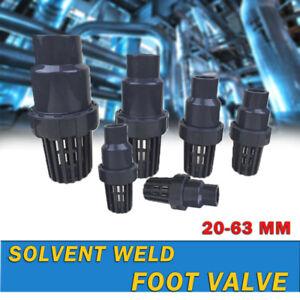 Foot Valve DN15A-50A Φ20mm- Φ63mm Non Return Plastic Suction Basket Inlet Filter