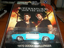 GREENLIGHT 1/64 HOLLYWOOD SERIES 8 SUPERNATURAL 1970 DODGE CHALLENGER