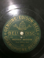 ROYAL MILITARY BAND BELL EDISON GRAMOPHONE DISC waltz RARE 78 RPM RECORD VG+