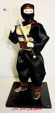 "Japanese Samurai Doll Ninja 12"" Tall"