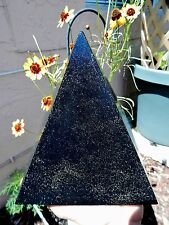 XL Orgone Pyramid 4 1/2LBs Black Sun Quartz Crystals