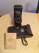 Vintage Eastman Kodak Co  Jr No 1A Folding Camera Rochester Series II