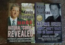 Lot of 2 Kevin Trudeau books Natural Cures Revealed & They Dont Want You to Know