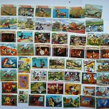 More details for 100 different walt disney on stamps collection