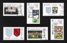 Davaar Island 1994 F. A. Cup / Football complete set of 6 values MNH