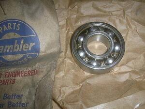 AMC NASH & RAMBLER GENERATOR DRIVE END BALL BEARING 1949-1959 NOS