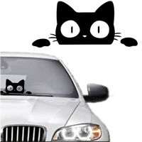 14CM*6.2CM Surprise Cat Peeking Funny Vinyl Decal Sticker Car/Truck Laptop New