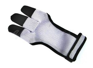 ARCHERS MESH SHOOTING 3 FINGERS GLOVE LEATHER FREE GLOVE HUNTING,SHOOTING GLOVES