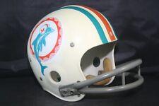 Vtg 1973 Riddell TK Suspension Football Helmet Lamp Miami Dolphins BD9 2 bar
