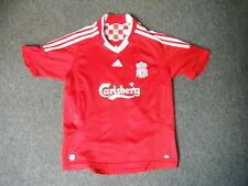 "Liverpool Medium Boys 12 Yrs 30/32"" 152 cm Home Football Shirt"