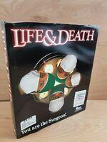 Vintage Retro Life and Death Amiga game Rare - Big Box Floppy Discs