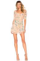FOR LOVE & LEMONS Ace Mini Dress Size L Orig. $290 NWT