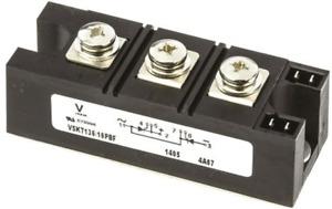 1 x Vishay VS-VSKT136/16PBF Thyristor Module 135A 1600V 7-Pin INT-A-PAK