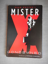 MISTER X: CONDEMNED TPB VO TBE / FINE