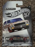 2018 Hot Wheels '70 Buick GSX 50th Anniversary Zamac Edition Wal-Mart Exclusive
