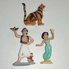Disney Figuren Aladdin & Prinzessin Jasmin & Tiger Rajah - Bullyland / Sammlung