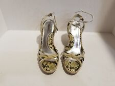 Daisy Fuentes Womens Multi Color Wedge Sandals Size 8.5 M