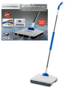CLEANmaxx Vibrationsmopp Wischmopp LED Akku Elektrisch Bodenwischer Wischsystem