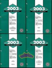2003 Gmc Shop Manual Chevrolet Service Repair Book Cadillac Workshop Set(Fits: Cadillac)