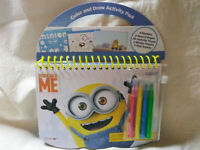 Despicable Me Color and Draw Activity Pad  New Minions