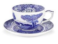 Portmeirion Spode Jumbo Cup & Saucer, Blue Italian (1503762)