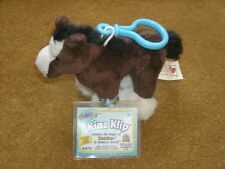 Ganz Kinz Klip ~ CLYDESDALE HORSE (WE000692) new with unused tags ~ approx 4""