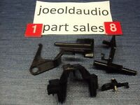 Radio Shack/Realistic LAB 89 Turntable Chassis Parts Black. Parting Out Lab 89.