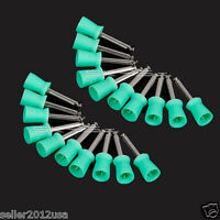 200X Dental Latch type Polishing Polisher Prophy Cup for Contra Angle Handpiece