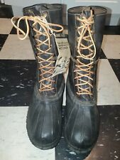 WW2 Korean War US Army Military Shoe Pacs Boots Size 12W