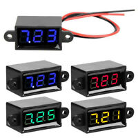 Gauge Digital voltmeter Tester Waterproof Plastic DC 3.0-30V Industrial