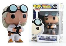 Dr. Doc Emmett Brown Back to the Future Pop! Funko movies Vinyl figure n° 50
