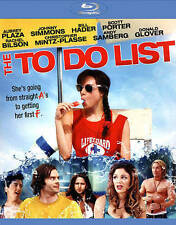 THE TO DO LIST (Blu-ray Disc, 2013) New / Factory Sealed / Free Shipping