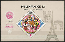 Mongolia 1982 SG#MS1449 Philefrance Stamp Exhibition MNH M/S #D2316