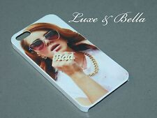Lana Del Rey Bad White Hard Case for iPhone 5, 5s