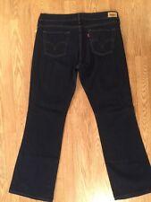 Women's Levi's 545 Low Bootcut Jeans Sz 14 Inseam 32 Euc