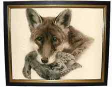 Kurt Meyer-Eberhardt - Original Colour Copper Etching Print - Fox with Partridge