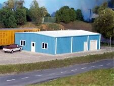 Pikestuff (HO-Scale) #541-5005 Multi - Purpose Building  (blue) - NIB