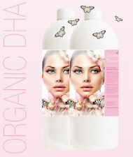 SPRAY TANNING/TAN SOLUTION DARK 12.5% ORGANIC 1 LITRE BUTTERFLY BRONZE