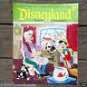 5 Original Issues 1970s DISNEYLAND MAGAZINE Walt Disney Beginning Readers LOT