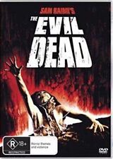 The Evil Dead (1981) Bruce Campbell - NEW DVD - Region 4
