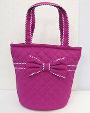 NaRaYa Rose Pink Bow Cotton Tote Bag