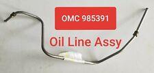 OMC Johnson Evinrude OEM 985391 0985391 OIL LINE ASSY