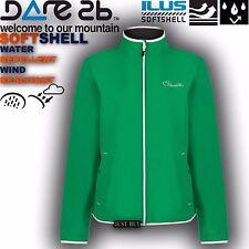 Dare2b Jacket Womens Attentive Softshell Walking Hiking Running Outdoor Gym Top