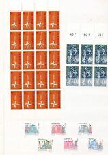 Luxembourg 1960s./70s Blocks MNH Used Birds Sport (220+Items) (ELF786