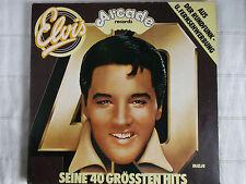 ELVIS - Seine 40 grössten Hits Doppel-LP Arcade Records
